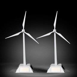 fan assembly Australia - decoration resin crafts craft Solar windmill model environmental science engineering experimental assembly rotary handicrafts