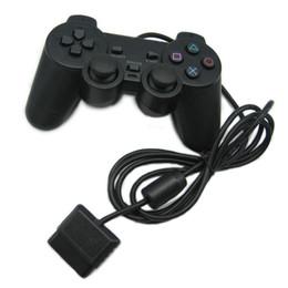 Controlador Com Fio PS2 Gamepad Manete Para Playstation Dualshock 2 Controle Joystick Mando Controlador de Jogo Console venda por atacado