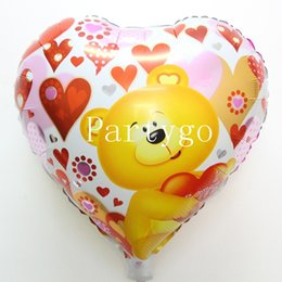 $enCountryForm.capitalKeyWord Canada - 50 pcs free shipping helium globos heart balloon bear design ballons for baby birthday party kids party decoration baloon
