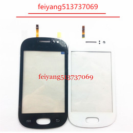 "ems sensor free NZ - 20pcs free DHL EMS Original 3.5"" For Samsung Galaxy Fame S6812 S6810 with Duos Touch Screen Digitizer Front Glass Lens Sensor Panel"