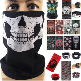$enCountryForm.capitalKeyWord NZ - Multi bike motorcycle helmet face mask half skull mask CS Ski Headwear Neck cycling pirate headband hat cap halloween mask pirate kerchief