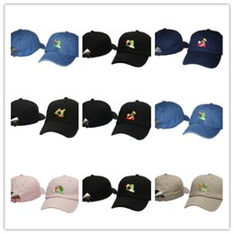 590ee88f43df9 Good Sale Frog Tea Snapback Kermit None Of My business Dad Lebron James  casquette kanye west Big Daddy hat Men Women Girl s Baseball cap