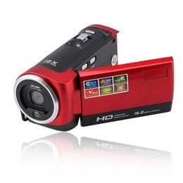 Tft Lcd Cmos Australia - Free shipping C6 Camera 720P HD 16MP 16x Zoom 2.7'' TFT LCD Digital Video Camcorder Camera DV DVR Black Red hot worldwide