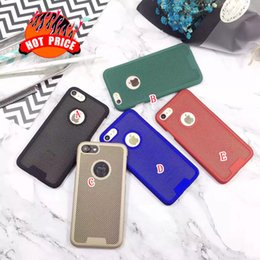 iphone i6s NZ - Dot Mesh PC Plastic Hard Case For Iphone 7 7PLUS 7G I7 Iphone7 6 Plus 6S I6S Colorful Oil Shell Cell phone Round Hole Skin Back Cover Luxury