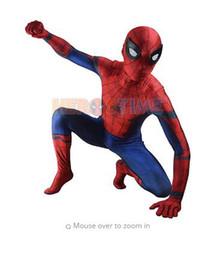$enCountryForm.capitalKeyWord Australia - (SN814)Civil War Spider-man 3D Shade Cosplay Suit Original Movie Halloween Party Spandex Spiderman Zentai Suit Superhero Costume