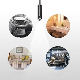 windows pc 2019 - 2017 New Version 8mm HD 720P Wifi Wireless Endoscope with 1.5m Cable Borescope Waterproof Inspection Snake Camera for IO