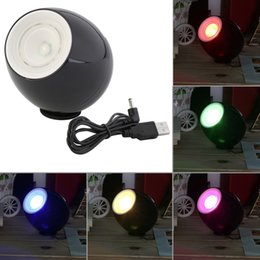 Discount mood led light Wholesale- 2017 Romantic Professional 256 Colors Living Color Light LED Lamp Mood Light Touchscreen Scroll Bar USB Gift