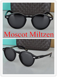 f5e1e66775a Brand Sunglasses-Customized Moscot Miltzen sunglasses Polarized coating Lens  Fashion Design Johnny Depp Men Sunglasses Sun Glasses 8 lenses