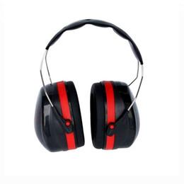 Noise Earmuffs Canada - Ear Muff Hearing protection earmuffs Ear Protectors Study Soundproof noise sleep shooting earmuffs Peltor protection