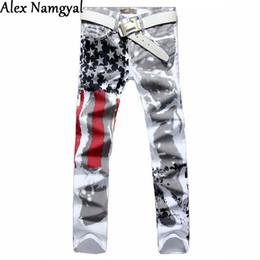 Discount cool jeans patches - Wholesale-2016 Spring Cotton Men Jeans Floar Men  Pants Straight cb18c3cef