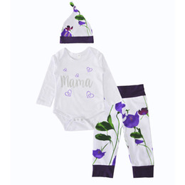 Boys BaBy light Blue suit online shopping - Baby Clothing Sets Heart Boys Girls Winter Autumn Spring Casual Suits Shirts Pants Hat Infant Outfits Kids Tops Shorts M