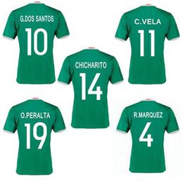 new mexico jersey 2016 chicharito home green g.dos santos r.marquez c vela