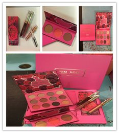 shadow lipstick 2019 - Newest Makeup Set ColourPop Fem Rosa Set 12 color Eye shadow +3 color Highlighter +3 color Matte lipstick in stock cheap
