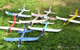 $enCountryForm.capitalKeyWord Canada - 48cm LED EPP Throw The Plane Flying Toys Hand Launch Free Fly Glider Plane Hand throw the plane