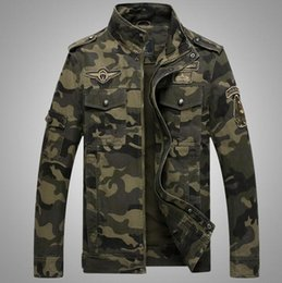 Army combAt coAt online shopping - New Men Cotton Coat Camouflage Military Combat Slim Casual Jacket coat outwear