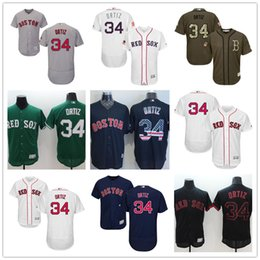 92f3cb91f36 ... Fashion Stars White Celtic Majestic Los Angeles Dodgers ... Stitched  Throwback Jerseys hot Boston Red Sox 34 David Ortiz Navy Blue Usa Mens ...