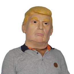 usa president candidate mr trump latex mask halloween mask latex face mask billionaire presidential donald trump latex mask - President Halloween Mask