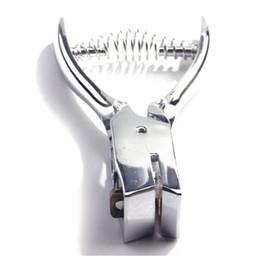 $enCountryForm.capitalKeyWord NZ - Wholesale- AIIwin Id Card Badge Metal Hand Held Slot Hole Punch Puncher Office Kit Silver