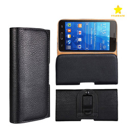Leather beLt cLips online shopping - Pouch Waist Bag Phone Case Magnetic Snap Closure Universal Mobile Phone Belt Holster Clip PU Leather Cover for iPhone