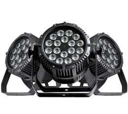 Bulb Case Australia - Free shipping High quality Two years warranty 18x18W 6in1 RGBAW+UV Waterproof LED Par IP65 Outdoor with road case