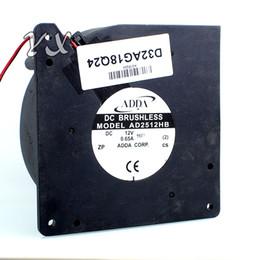 Discount 12v blower fan computer - New 12CM turbo blower centrifugal fan 12032 12V 0.65A AD2512HB-BV7 120*120*32mm