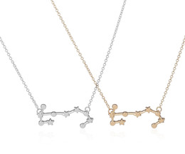 Scorpio necklace pendants nz buy new scorpio necklace pendants wholesale 2016 new scorpio zodiac signs astrology necklace constellation pendant necklaces for women geometric party necklace n158 mozeypictures Images