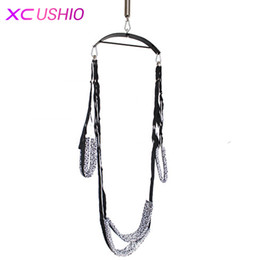 Sex toy love Swing online shopping - Sex Swing Chairs Furniture Adult Games Love Door Swing Restraint Fetish Bondage Products Sex Toys for Couples Flirting Furniture
