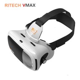 RITECH VMAX Immersive 3D Lunettes de cinéma Casque 360 Lunettes de réalité virtuelle Vrbox VR Casque en carton 3.0 pour 4.7-6 'Smartphone