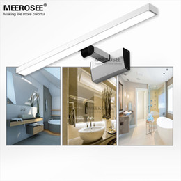 Hot Selling LED White Acrylic Mirror Wall Light Fitting 10watt Bathroom Lamp Chrome Modern Lustre Promote Shipping
