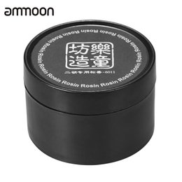 Chinese  Wholesale- Black Rosin Resin Colophony Low Dust Handmade with Plastic Box Universal for Bowed String Instruments Violin Viola Cello Erhu manufacturers