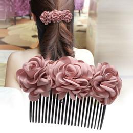 $enCountryForm.capitalKeyWord NZ - Woman headdress hair Colorful plaid (jewelry) Bow Hair Barrette Hair Comb comb meatball head is inserted S0058 card