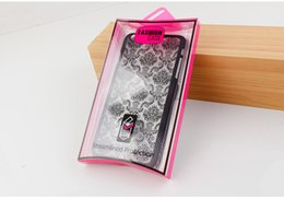$enCountryForm.capitalKeyWord Australia - wholesale Universal Colorful High Class PVC Retail Packaging Box for iphone 7 7plus Cover Case Packaging