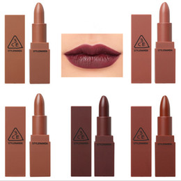 China HOT 2017 Wholesale 3CE Eunhye House Lipstick Moisturizer Matte Lipsticks Long-lasting Easy to Wear Korean Cosmetic Nude Lips Makeup ky suppliers