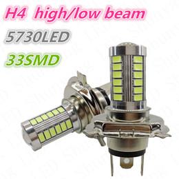 Großhandel H4 LED Nebelscheinwerfer 33 SMD 5730 H9 H10 H11 33SMD 5730 für Auto Auto Nebelscheinwerfer Bub Lampe