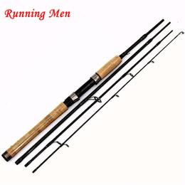 4 Seção 2.1 m 2.4 m 99% De Carcaça De Carbono Rod Spinning Lure Vara De Pesca Para Pólo em Promoção