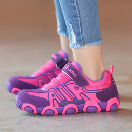 597900131a33 Kids Shoes For Boys And Girls Soft School Running Shoes 2018 Spring  Children s Sport Shoes Size  26-37