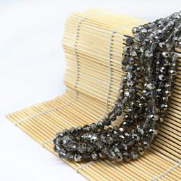 $enCountryForm.capitalKeyWord NZ - Glass Rondelle Beads Plate half silver color