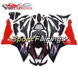Aprilia Rsv4 Abs Fairings Canada - Injection Fairings For Aprilia RSV4 1000 10 11 12 13 14 15 Complete ABS Plastic Motorcycle Fairing Kit Bodywork Cowlings Black Red Body Kit