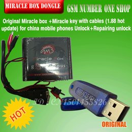 $enCountryForm.capitalKeyWord NZ - 2017 Original Miracle box +Miracle key with cables (1.88 hot update) for china mobile phones Unlock+Repairing unlock
