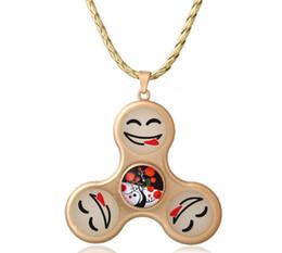 $enCountryForm.capitalKeyWord UK - 3Colors Gyro pendant necklaces Alloy Smile Universe Gemstone Pendant Necklaces Mix Style 2017 Fashion July Style