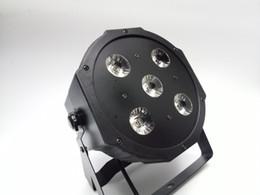 2017 новый 5 * 18W RGBWA-UV 6in1 LED Par банки 6 / 10ch диско DJ освещения DMX-512