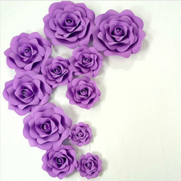 Large paper flowers nz buy new large paper flowers online from fashion party supplies diy big wedding decoration large artificial flowers 100 handmade decorative flowers party paper flower foam roses junglespirit Choice Image