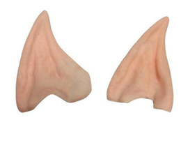 $enCountryForm.capitalKeyWord Australia - Party Decorations New Halloween Party Cosplay Accessories Latex Soft Pointed Prosthetic Wizard Elf Hobbit Vulcan Spock Costume Tips Ears