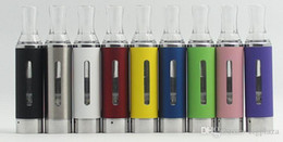 vapor battery ego Australia - MT3 Atomizer EVOD Clearomizer vapor tank Electronic Cigarette for e-cig eGo EVOD battery 9 colors Free