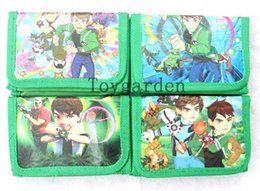 Wholesale New Ben cartoon boys Wallet coins bag mix order