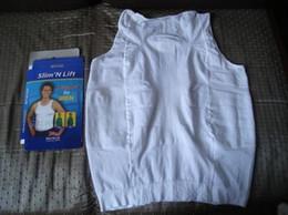 Vente en gros Nouvelle chemise amincissante pour homme Nouveau shaper pour homme homme shapewear 140D D532