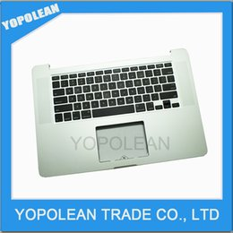 """topcase keyboard 2019 - Original Top case with US keyboard For MacBook Pro 15"""" Retina A1398 topcase No trackpad 2013 2014"""