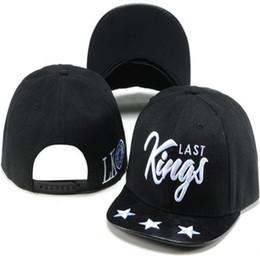 Adult Snapbacks Canada - Last King Snapbacks Fitted Baseball Hats Ball Cap Hip Hop Street Headwear Snapback Hat LK Snap Back Caps Mens Adult Hats