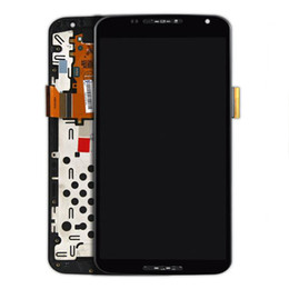 lcd screen moto x NZ - For Motorola Nexus X 6 LCD Digitizer Moto X Pro XT1100 XT1103 LCD Screen Display Assembly with Frame Black New Arrival !!!