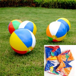 Best Toys NZ - Children Best Summer Toys For Inflatable Beach Ball Multi-colour Outdoor Beach Ball Water Sports Balloon Water Toys C152Q
